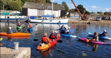 Adventure group – kayaking photos